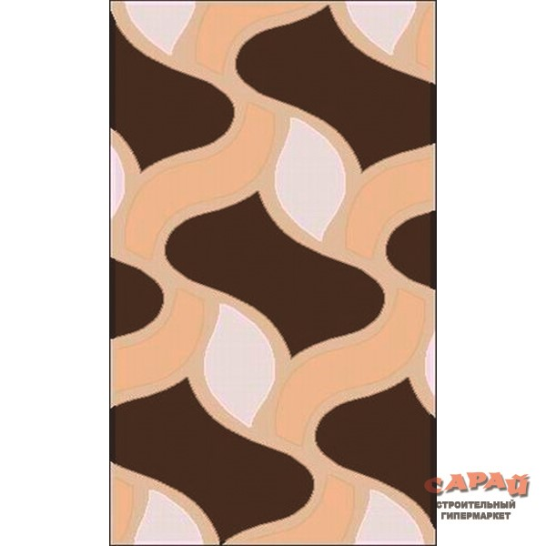 КОВЁР Therapy 2372  brown-beige 2 х 4