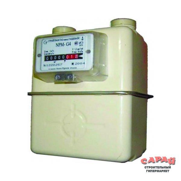 Бытовой счётчик газа NPM G4 (НПМ G4)
