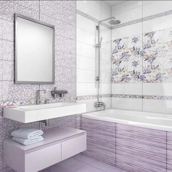 купить белую плитку для ванной комнаты или кухни огромный выбор и
