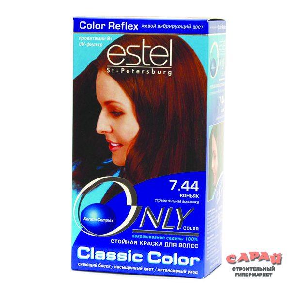Краска для волос эстель цвет коньяк