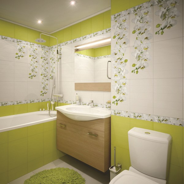 Каталог дизайн плитки ванной комнаты